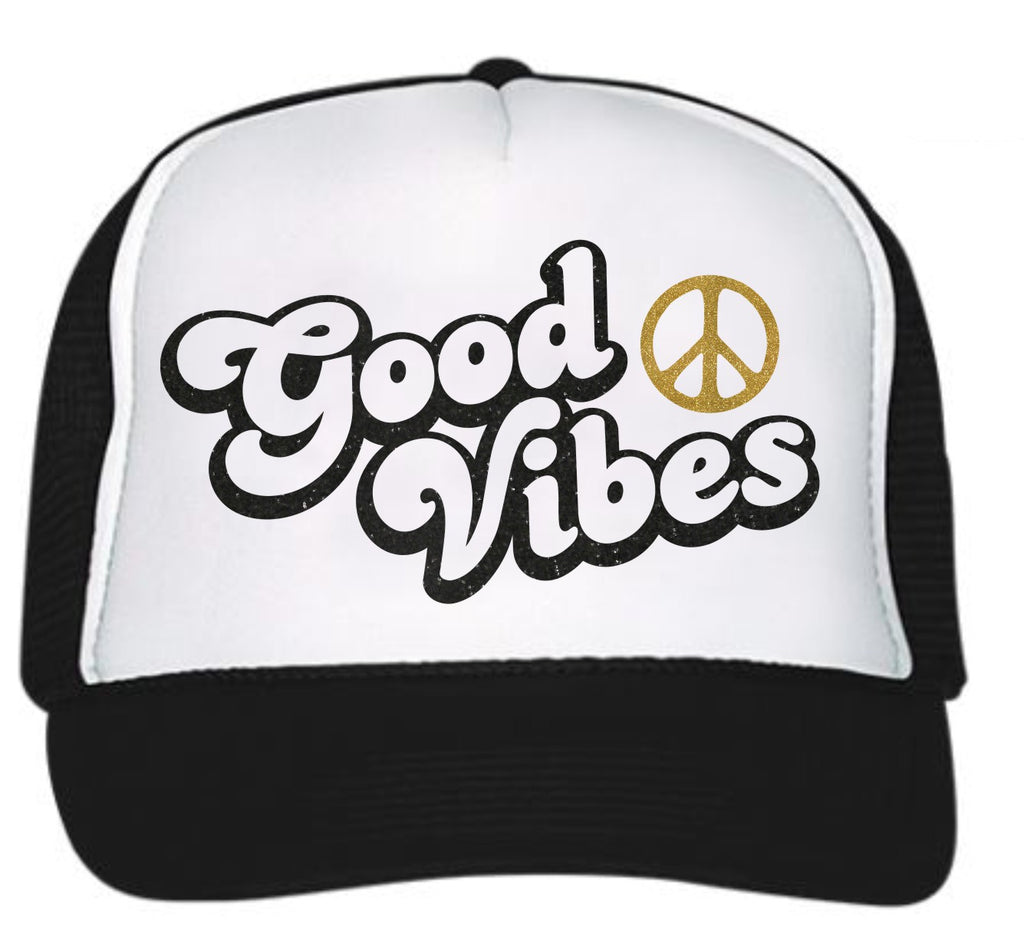 3b7a39dcb Good Vibes Trucker Hat
