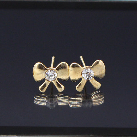 Bow Stud Earrings For Women and Girls