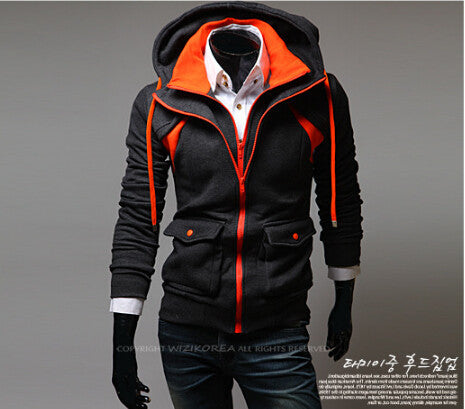 2015 New Spring Men's Fashion Brand Clothing ,Casual PatchWork Men's Fleece Hoodies Sweatshirts Male,Quality Fashion Design