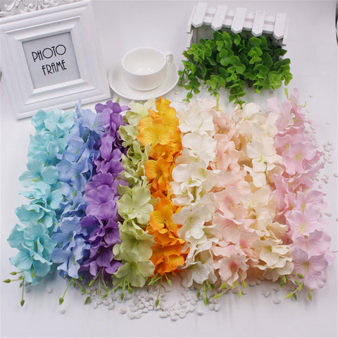 Wholesale 1pcs Wisteria Artificial Flower Vine For Wedding Home Party Kids Room Decoration DIY silk flowers for scrapbooking