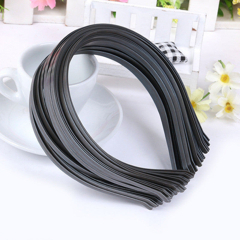 New Wholesale 10 pcs Blank Plain Metal Headband 3mm Hair Band For Hair Accessories DIY Craft