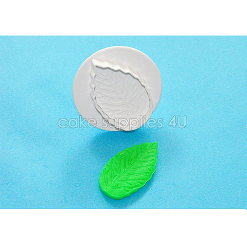 Rose Leaf Cake Decorating Fondant Cutter Plunger Cutter Bakeware Sugarcraft Mould