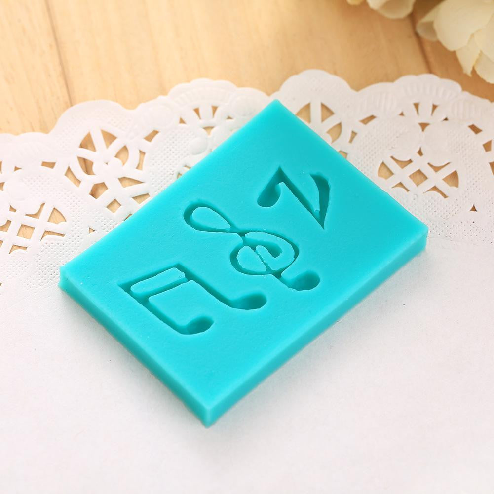New Instruments Music Notes SILICONE MOULD Topper Cake Decoration Sugarcraft ROCK Hot