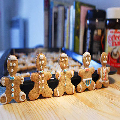 Top Quality Metal Alloy Gingerbread Men Shaped Holiday Baking Biscuit Cookie Cutter Mold Decorating Tools