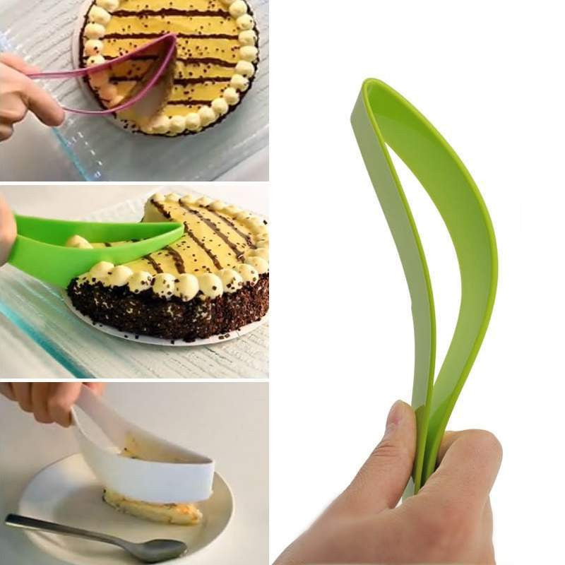 Home Party Knife Kitchen Cook New Cake Pie Slicer Sheet Eco-Friendly Cutter Server Bread Slice Knife Kitchen Gadget #10