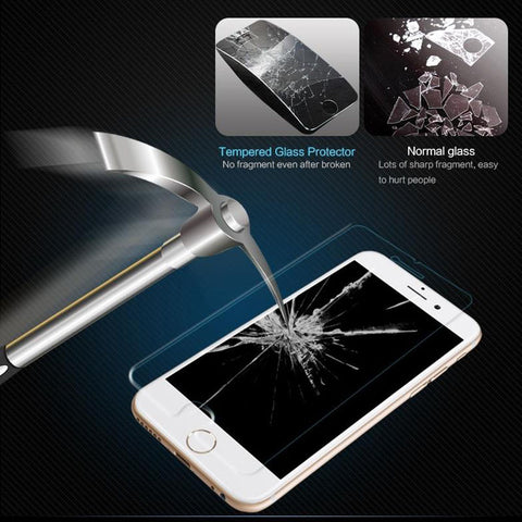 Tempered Glass Screen Protector for iPhone 6 6S Plus 6Plus Explosion Proof HD Clear Matte No Fingerprint Anti-glare Frosted Film