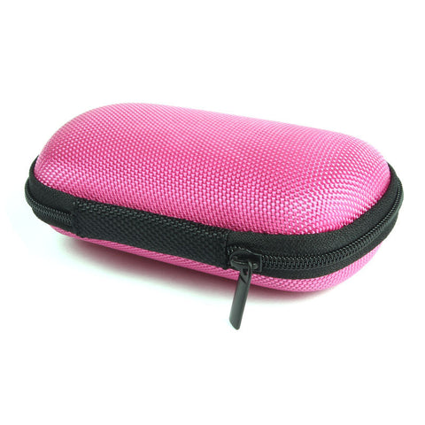 Hot New Headphone Earbud Carrying Storage Bag Pouch Hard Case For Headphone Earphone Gifts for Girlfriend Mom #ET714