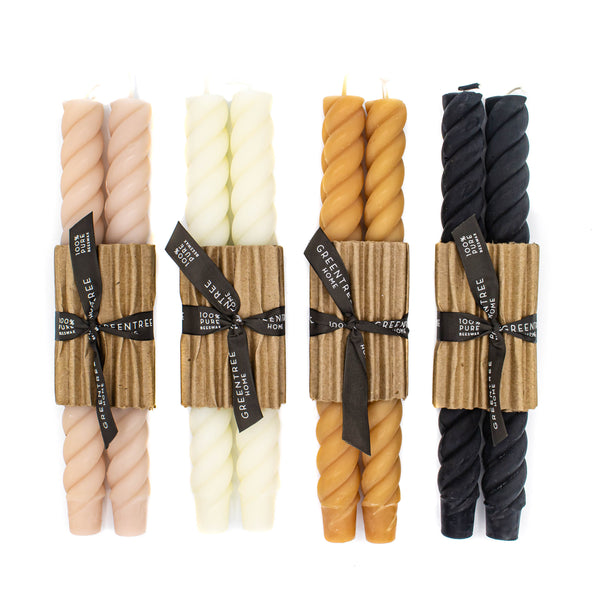 "10"" Rope Candle Tapers"