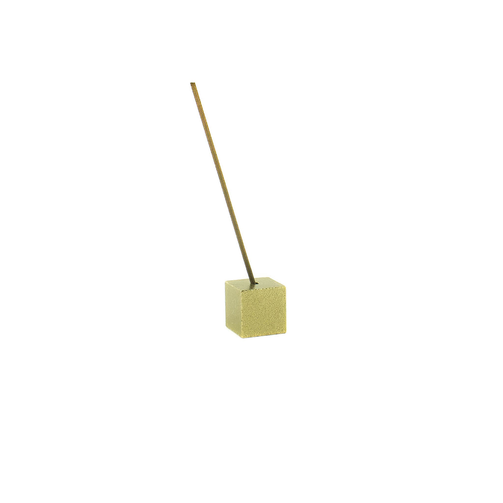 Brass Cube Incense Holder - November 19 Market