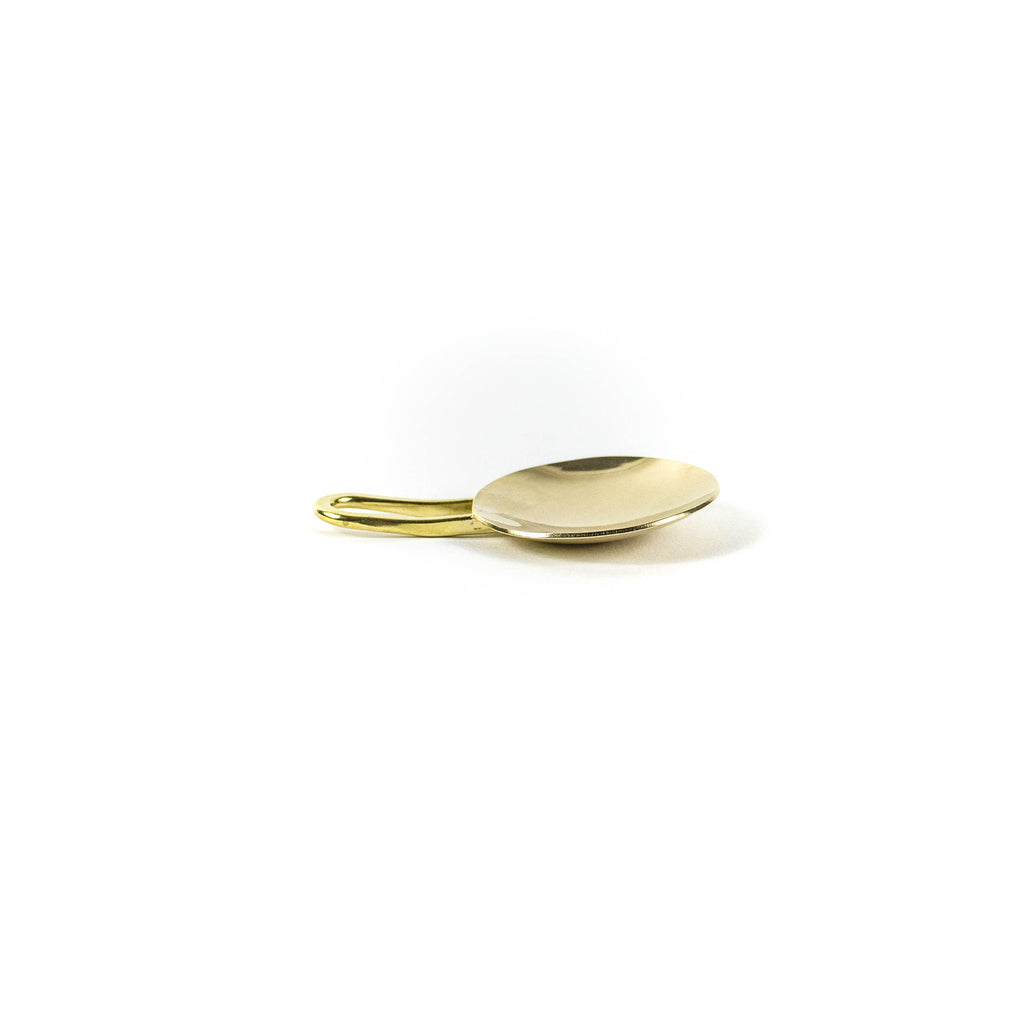 Brass Tea Measure Spoon - November 19 Market