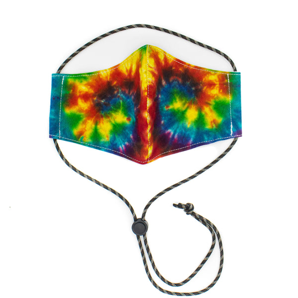 *PRE SALE* (estimated arrival May 20th) Cotton Face Mask with Adjustable Strap - Color Tie Dye - November 19 Market