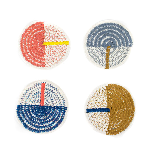 Cotton Stitched Rope Coasters