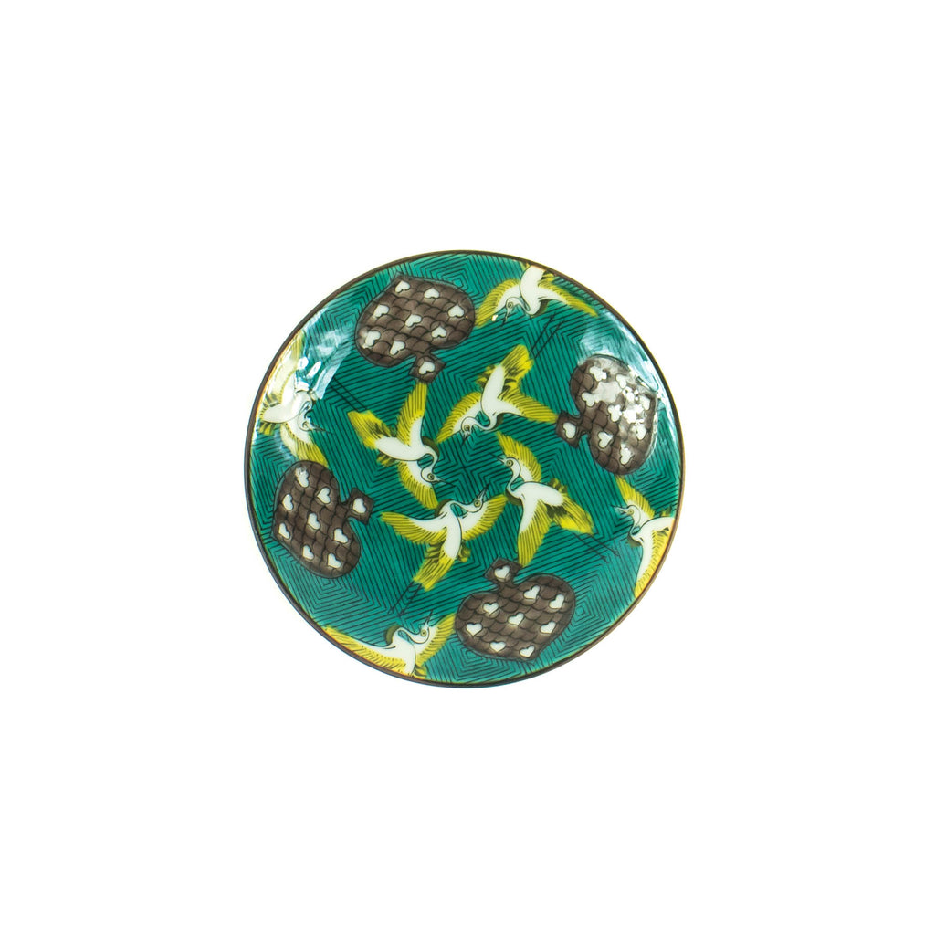 Flying Cranes Mini Plate - Japan - November 19 Market