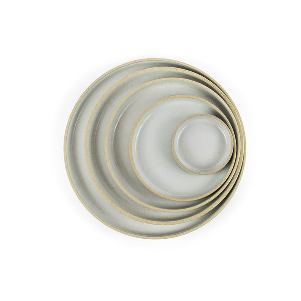 Hasami Plate Gloss Gray - November 19 Market
