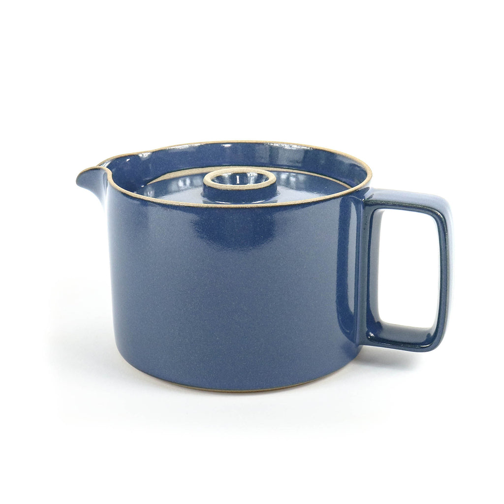 Hasami Teapot Gloss blue - November 19 Market