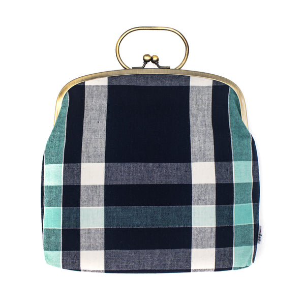 Ichishina - Purse - Mie Plaid - November 19 Market