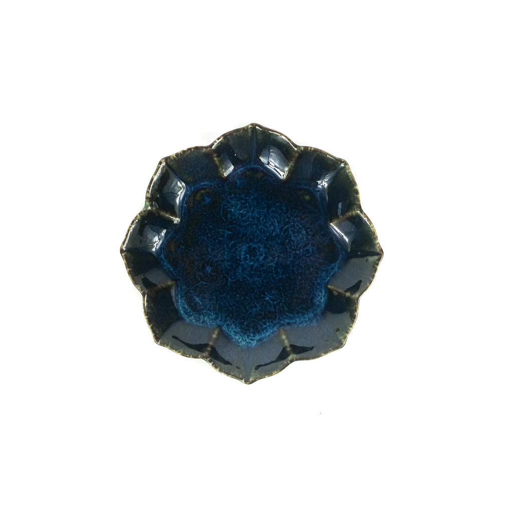 Indigo Octagonal Mini Plate - Japan