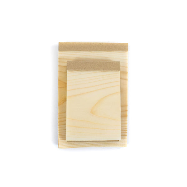 Wood Sheet Memo Pad - November 19 Market