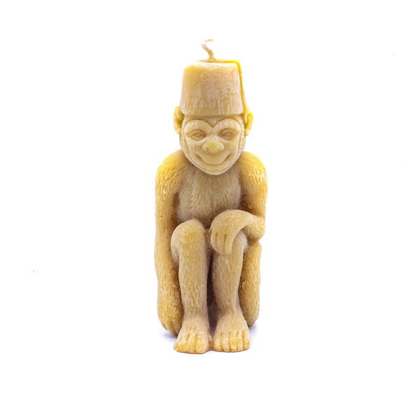 Monkey Candle - Natural