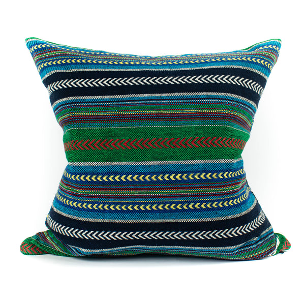 Mr. Chung - Maya Stripe Pillow - Green - November 19 Market