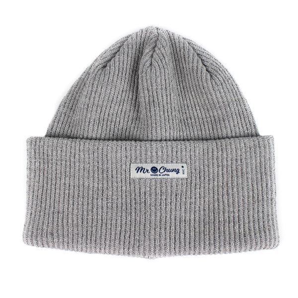 Mr. Chung Biggie Beanie - Grey heather