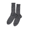RoToTo - Denim Tone Crew Socks - Gray Denim - November 19 Market