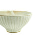 Off White Flower Wheel Rice Bowl - Japan