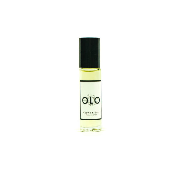 Olo Fragrance  -  Cedar and Rose - November 19 Market