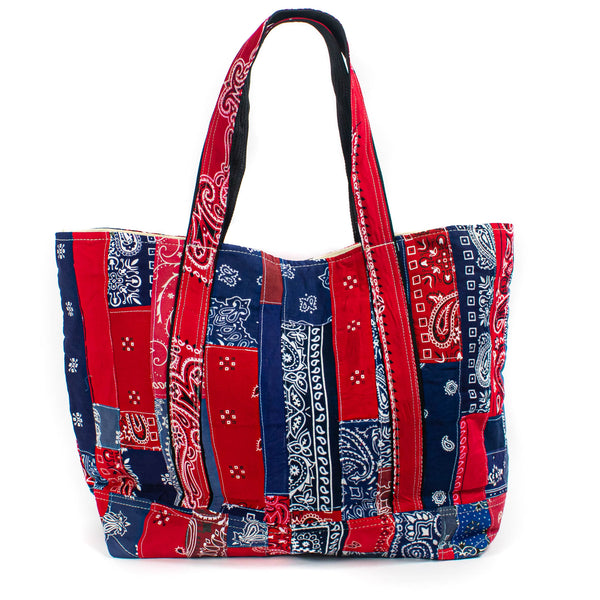 Patchwork Bandana Tote - Mixed