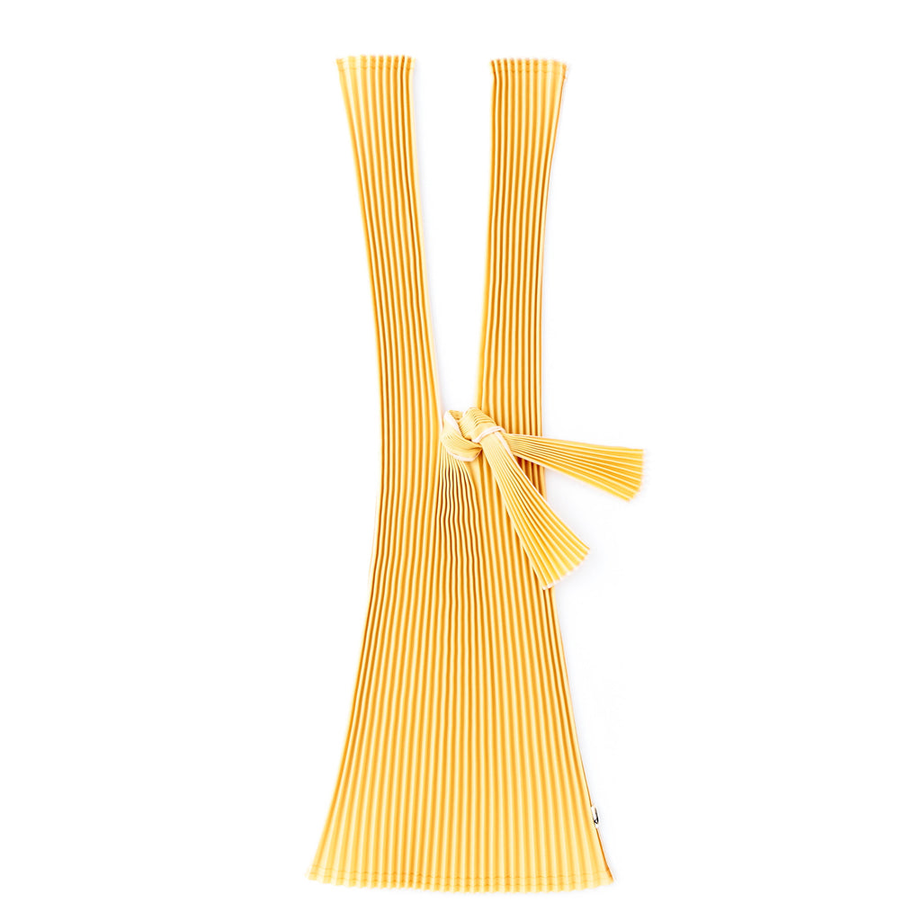 Pleco - Pleated Bag - Large - Mustard