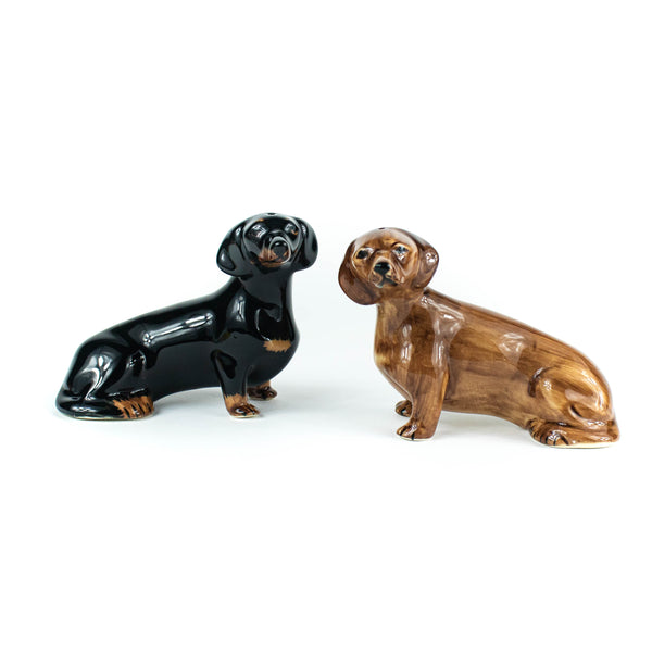 Quail -  Dachshund -Salt and Pepper Shakers - November 19 Market