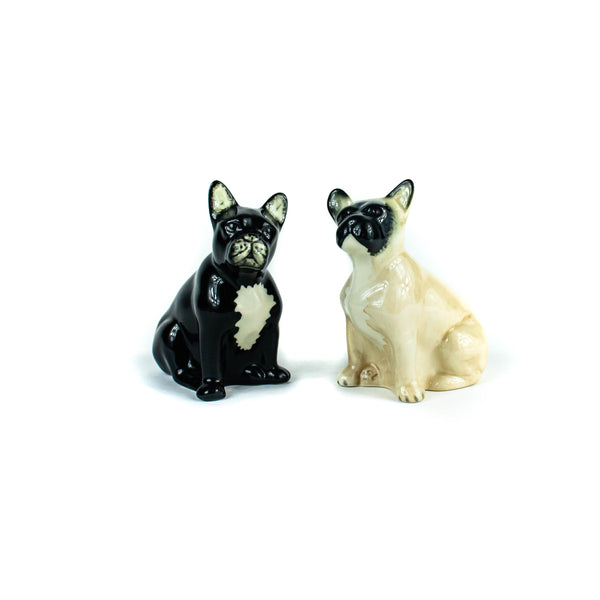 Quail - French Bulldog - Salt and Pepper Shakers - November 19 Market