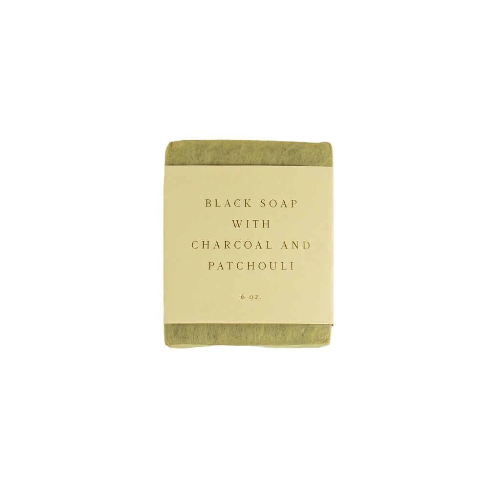 Saipua - Black Soap With Charcoal And Patchouli - November 19 Market