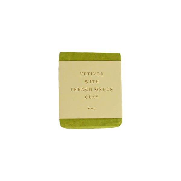 Saipua - Vetiver With French Green Clay Soap - November 19 Market