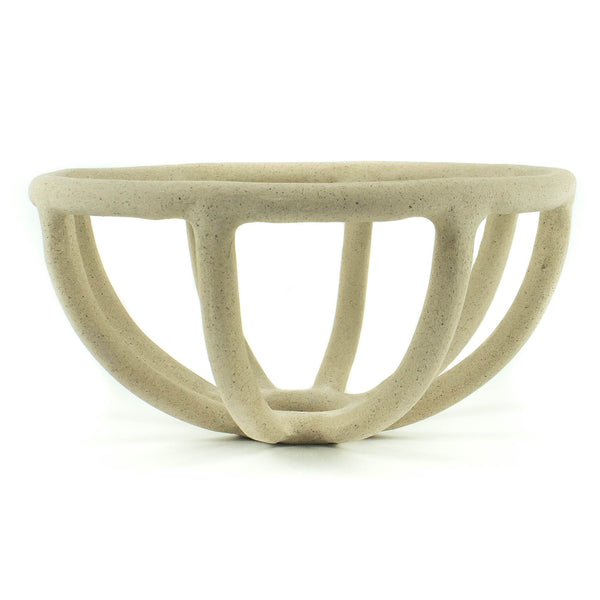 Sin - Prong Fruit Bowl - Stoneware - November 19 Market