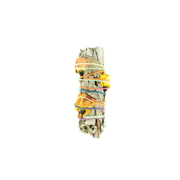 Small Floral Sage Smudge Stick - November 19 Market