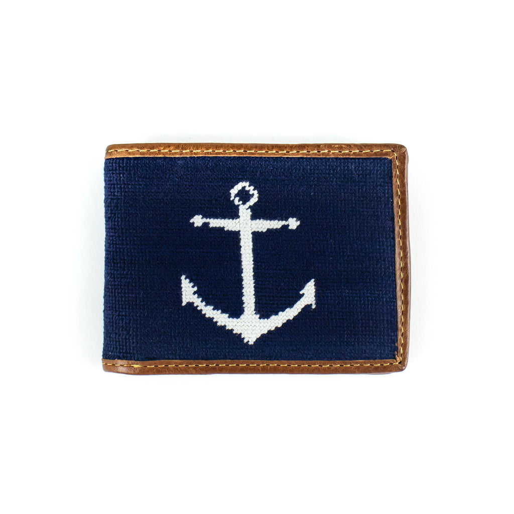 Needlepoint - Anchor -Wallet - November 19 Market