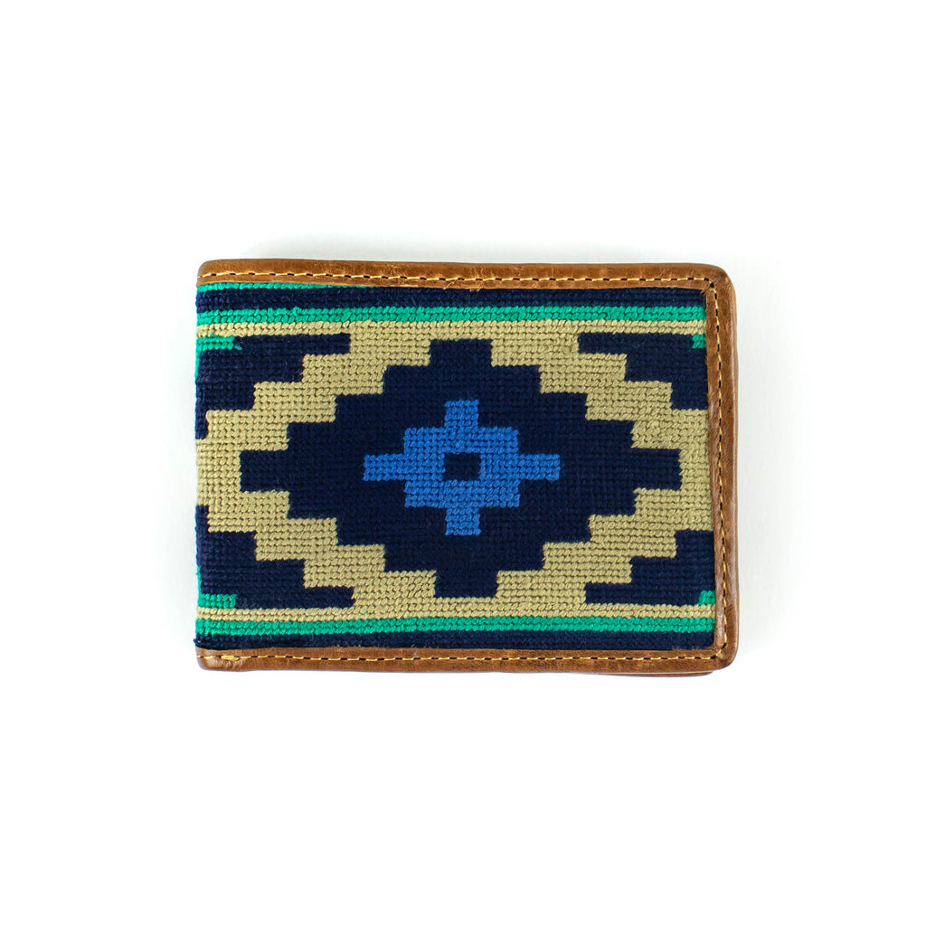 Needlepoint - Gaucho -Wallet - November 19 Market