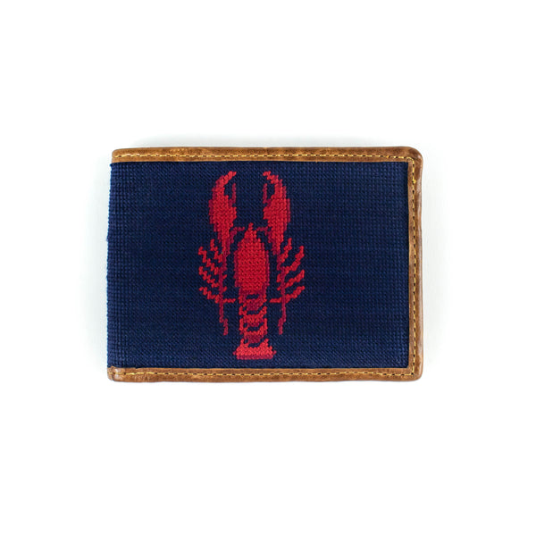 Needlepoint - Lobster -Wallet - November 19 Market