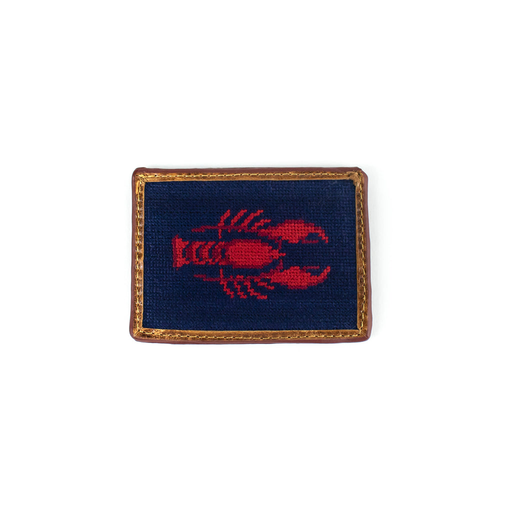 Needlepoint - Lobster - Card Holder - November 19 Market