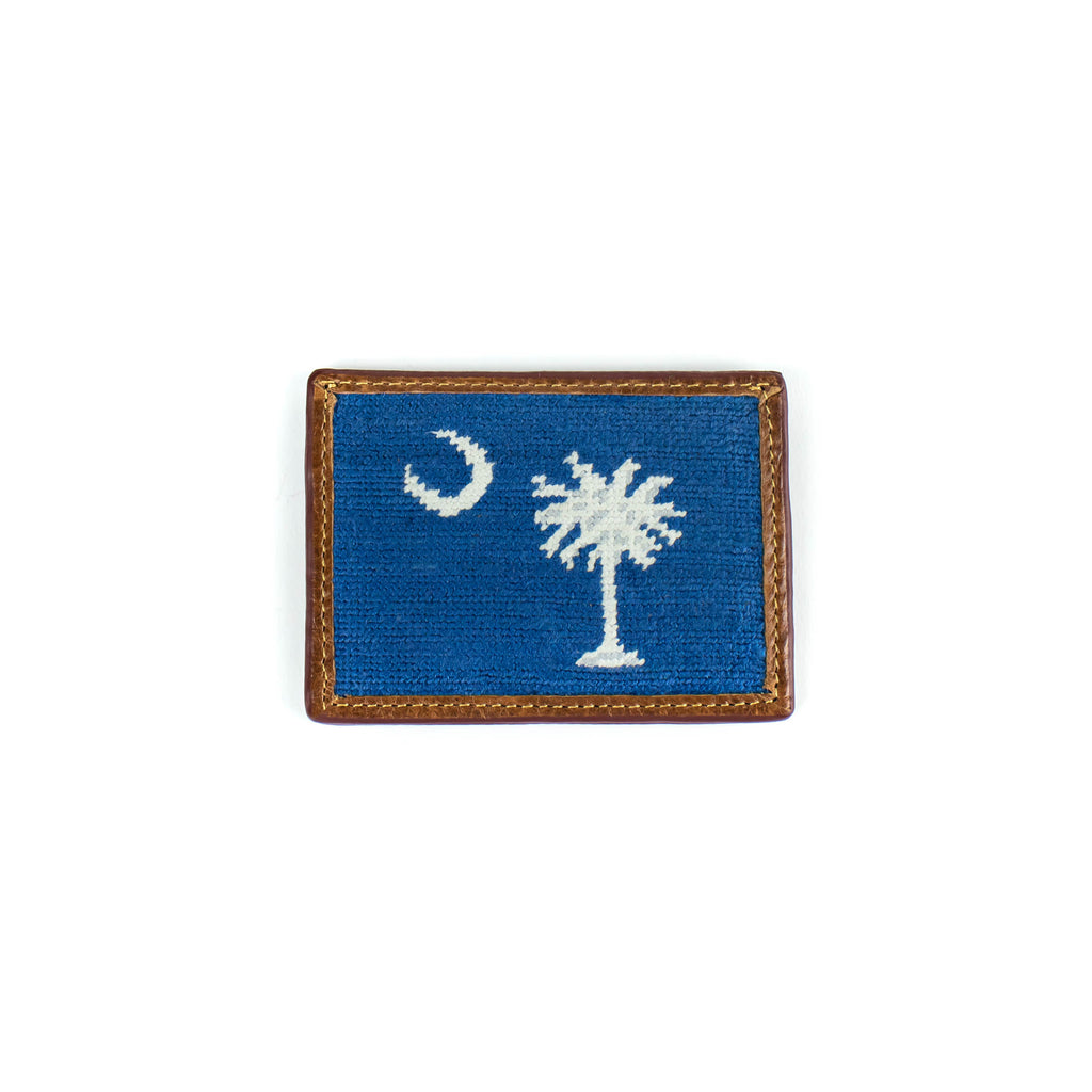 Needlepoint - South Carolina Flag - Card Holder - November 19 Market