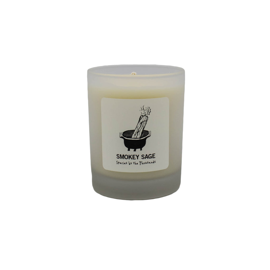 Species By the Thousand - Smoky Sage Soy Candle - November 19 Market