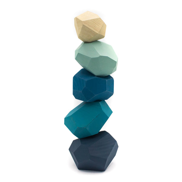 Tumi - isi - Wooden Blocks - Blue Color - November 19 Market