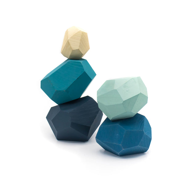 Tumi - isi - Wooden Blocks - Blue Color
