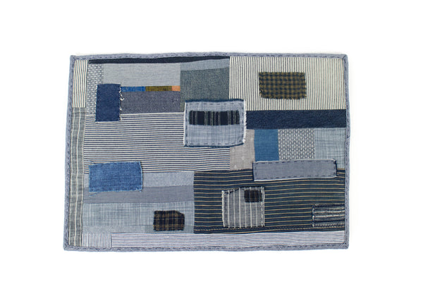 Denim Patchwork Placemat - November 19 Market