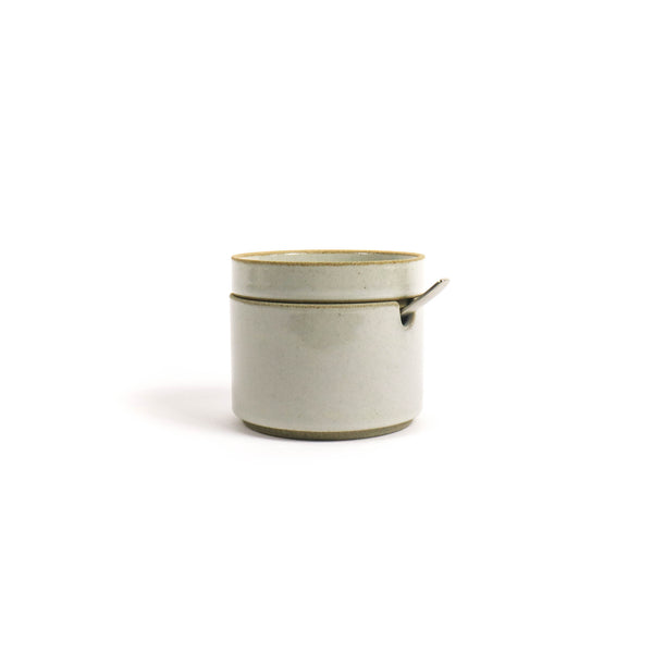 Hasami Sugar Pot Gloss Gray - November 19 Market
