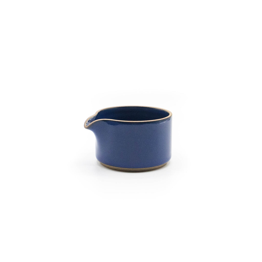 Hasami Milk Pitcher Gloss Blue - November 19 Market
