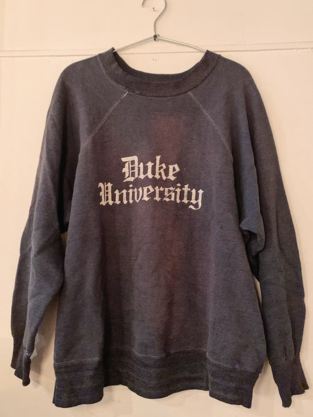 Vintage Navy Duke University Sweatshirt
