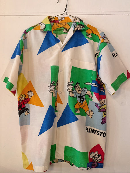"Vintage Flinstones ""Football"" Camp Shirt"