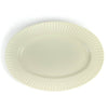 Sakuzan Stripe Oval Plate - Off White - November 19 Market